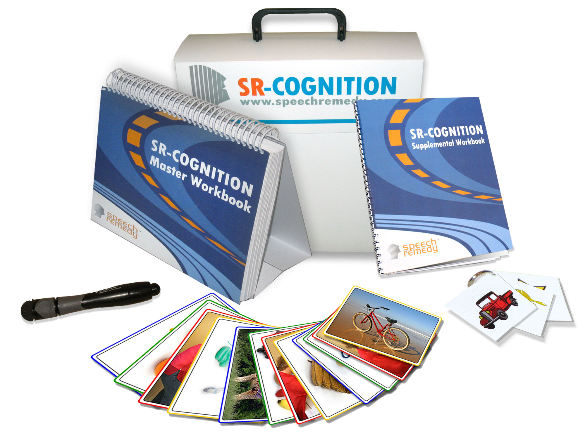 SR-Cognition is a complete therapeutic tool-set targeting adult cognitive ...